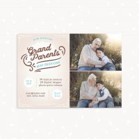 Grandparents mini sessions template