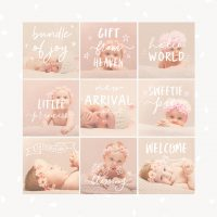 Newborn Photography Overlays