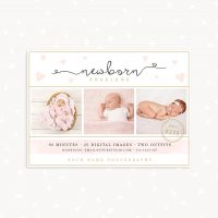 Newborn Photography Template Photoshop