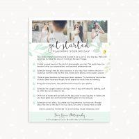 Wedding Photographer Checklist Planning Template