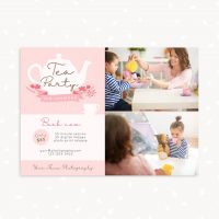 Tea Party Photo Sessions Template