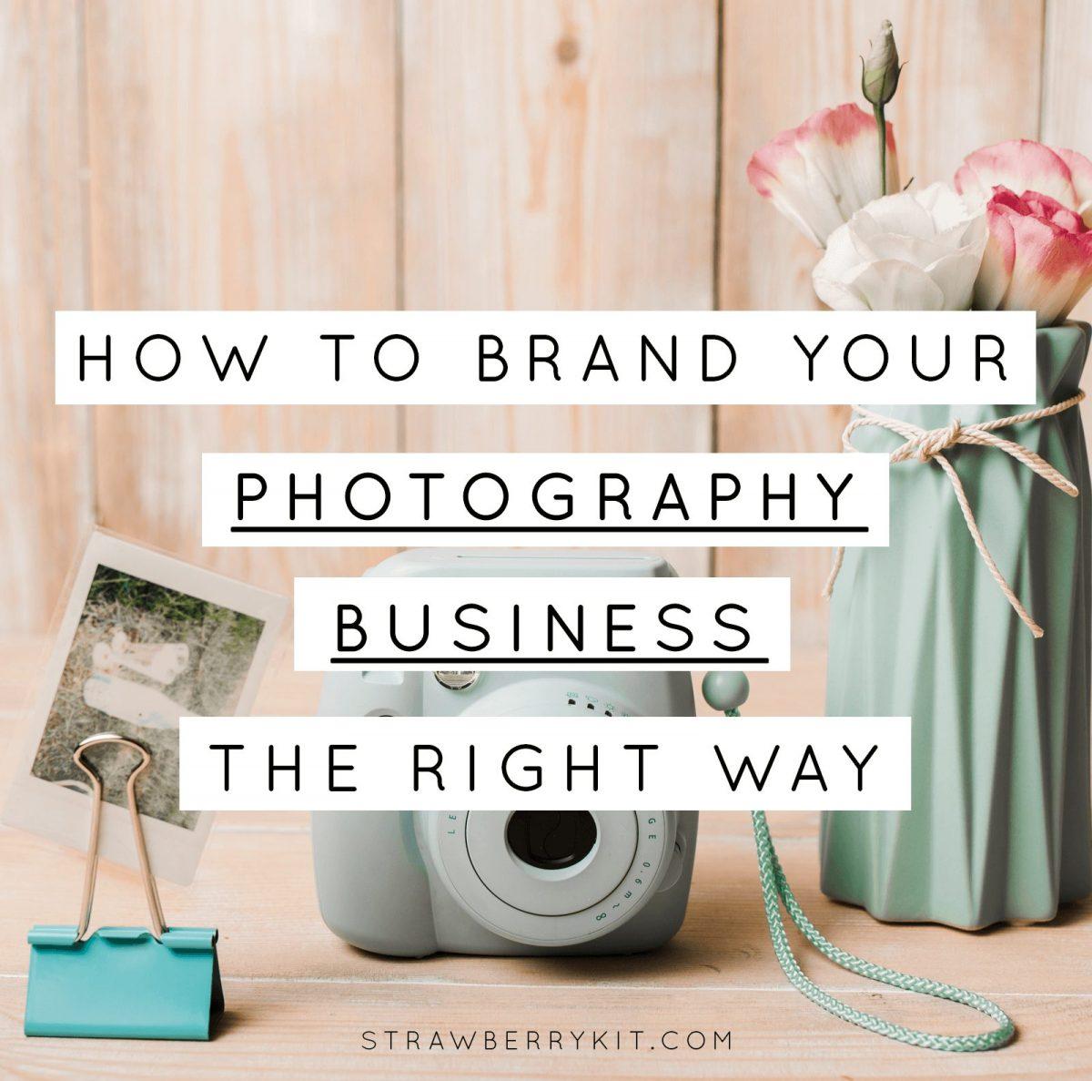 Photographer Branding Tips & Examples