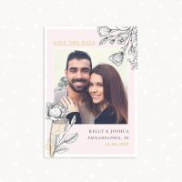 Save The Date Card Template Photography