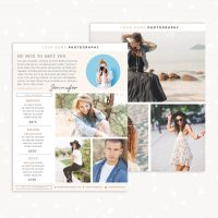 Information Flyer Template Photography