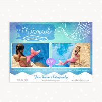 Mermaid Mini Session Template