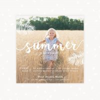 Summer mini sessions template handwriting