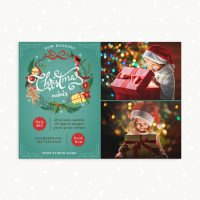 Christmas Mini Sessions Template Photography Download