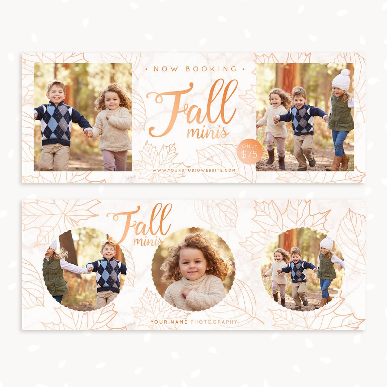 Fall Sessions Facebook Covers