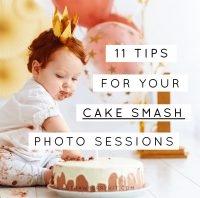 Cake Smash Photo Session Tips