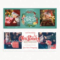 Christmas Minis Facebook Covers