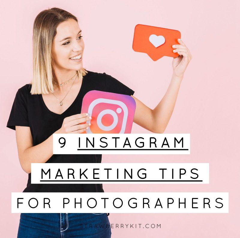Instagram marketing tips photographers