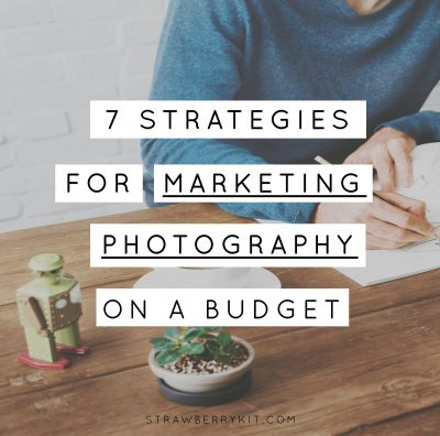 Marketing photography on a budget