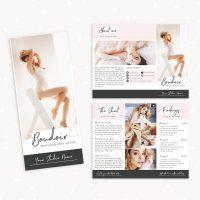 Boudoir Photography Brochure Template