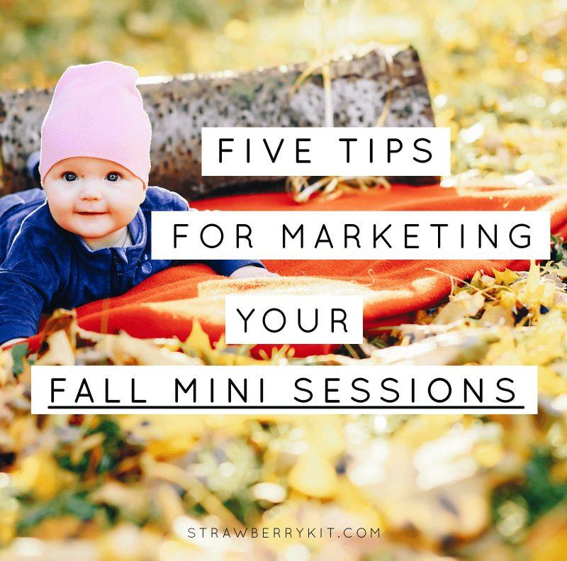 Fall mini sessions tips