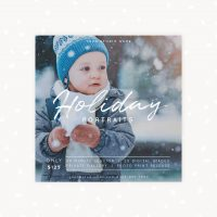 Holidays Mini Sessions Photography Template