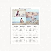 2019 Photographer Calendar Template