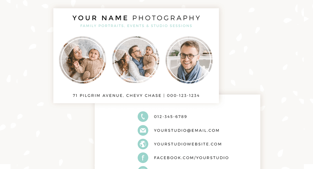 Business cards template category