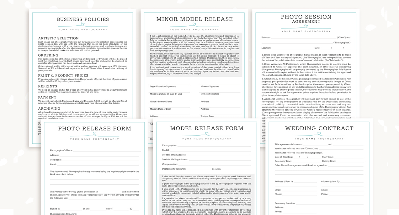 Forms category template