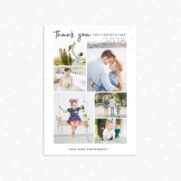 New Year Thank You Card Photographers