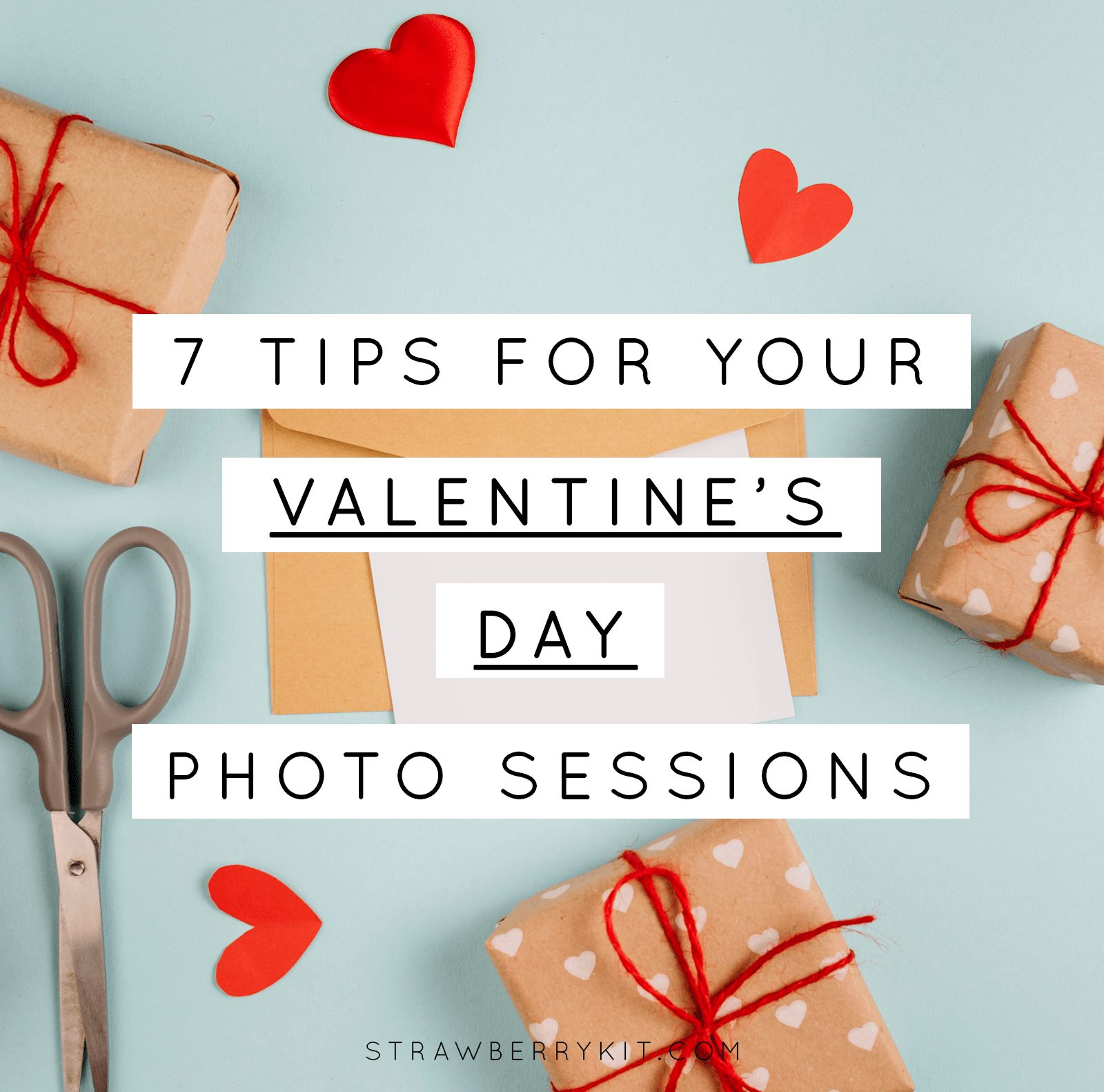 Valentine Photo Sessions Tips