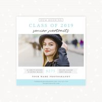 Booking Senior Sessions Template