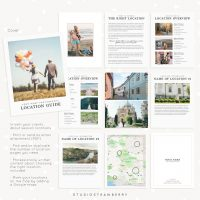 Location Guide Template Photographers