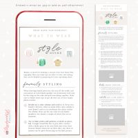 Photography Style Guide Email Template