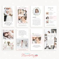 Instagram story templates for wedding photographers