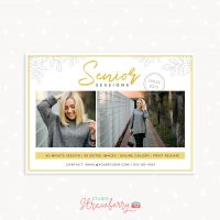 Senior sessions marketing template