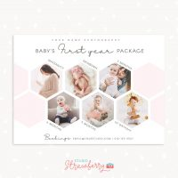 Baby First Year Photography Package Marketing Template