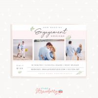 Engagement sessions marketing template