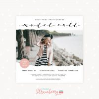 Model Call Template Photographer