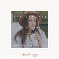 Your Theme Calligraphy Mini Sessions Template