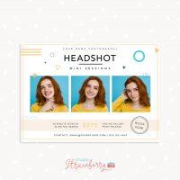 Headshot Mini Sessions Template
