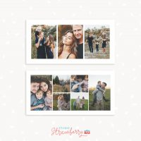 10x20 photo collages templates