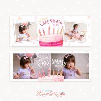 Cake Smash Mini Session Facebook Covers