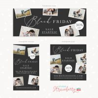 Black Friday Facebook Instagram Stories Template