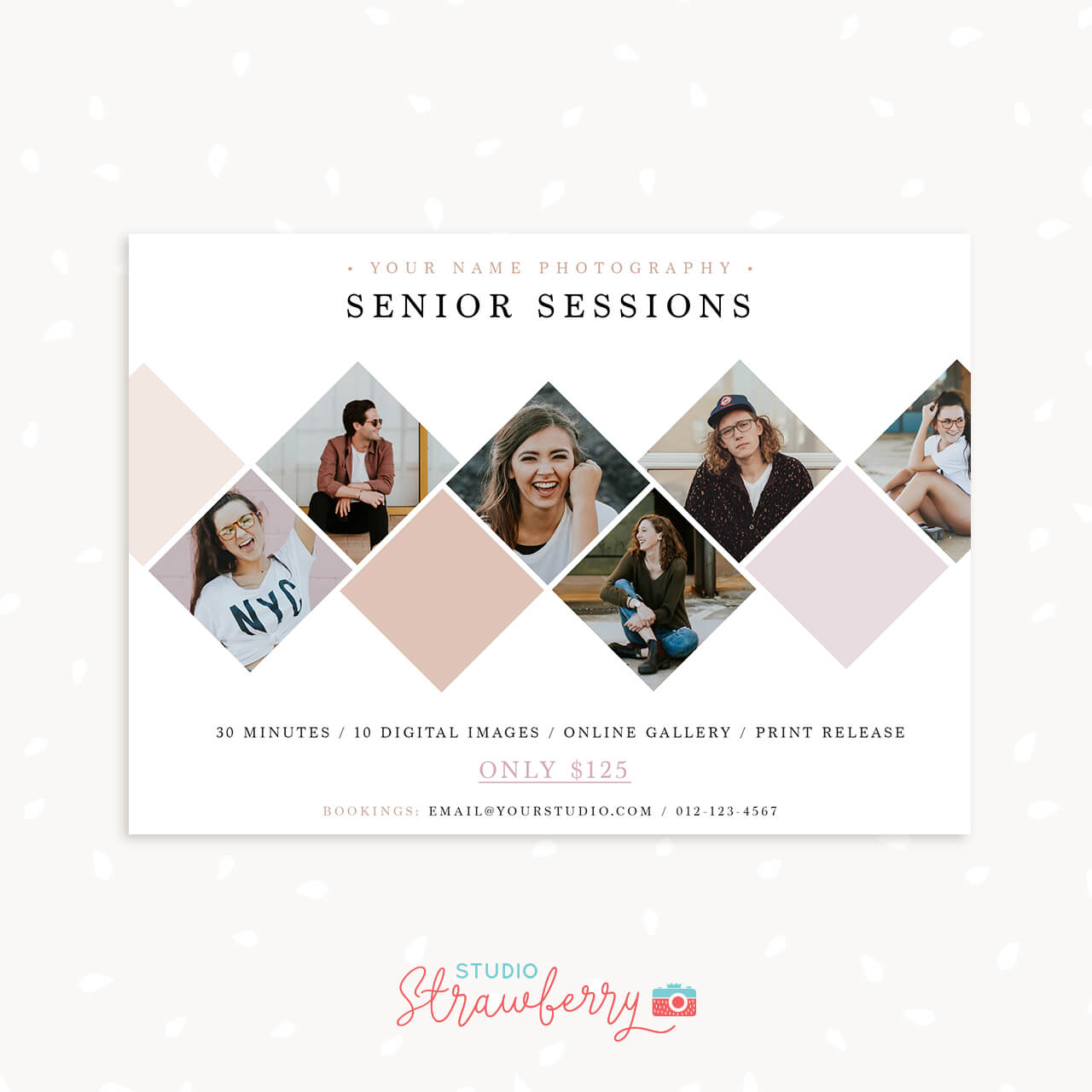 Photography Senior Sessions Marketing